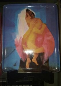 Manansala Mother Child Plate Ayala Museum Art Philippines Free Shipping