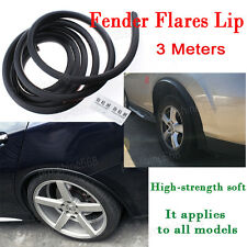 2X 59'' Rubber Vehicle Extension Lip Wheel Eyebrow Protector Lip Fender Flare A