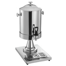 Hubert Milk Dispenser 2 Gallon Stainless Steel Single 10 12l X 14 18w X