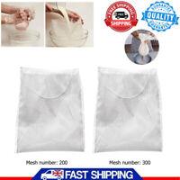 Reusable Nylon Fine Mesh Nut Milk Bag Coffee Filter Cheese cloth Wine Strainer