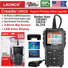LAUNCH X431 CR529 OBDII OBD2 Code Reader Scanner Check Engine Light Better CR319