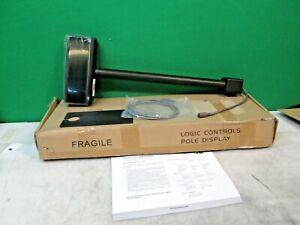 Logic Controls Bematech LDX9000UP-GY Pole Display New
