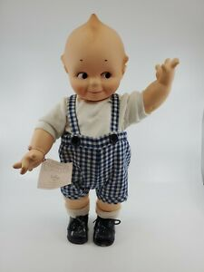 Vintage Kewpie Doll Cupie Baby Soft Rubber Vinyl Plastic Toy about 16 inches