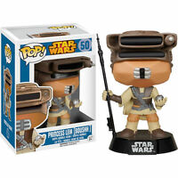 "STAR WARS PRINCESS LEIA BOUSHH 3.75"" POP VINYL BOBBLE HEAD FIGURE FUNKO NEW"