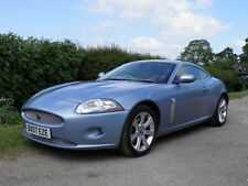 Outstanding Jaguar XK 4.2 litre V8 Low 45,000 miles Frost Blue Caramel Leather