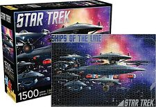 Star Trek Ships Of The Line 1500 piece jigsaw puzzle 830mm x 570mm   (nm)