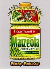 2018 WACKY PACKAGES GO TO THE MOVIES SILVER BORDER MAIZEOLA 38/50