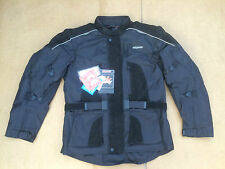 "RK SPORTS Mens Textile Motorbike / Motorcycle Jacket Size UK 44""- 46"" Chest H20"