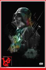 STAR WARS DARTH VADER Plaque Métal Tin Poster 10 x 14 metal Jammed # NEUF #