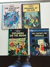 Adventures of Tintin: Set of 4 Softcover Tintin Books by Publisher Little, Brown