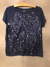 Ann Taylor LOFT Lovely Sequin Top - Size Small