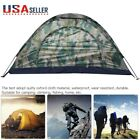 Outdoor Camping Waterproof Single Person Tent Camouflage Hiking Windproof US