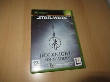 star wars jedi knight jedi academy xbox sealed new pal version