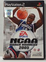 NCAA March Madness 2005 (Sony PlayStation 2 PS2, 2004) Complete Tested Works CIB
