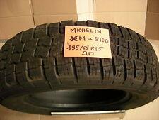 1 PNEU  MICHELIN 195 65 R15 . XM+S100 NEUF.