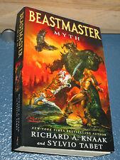 Beastmaker Myth by Richard A. Knaak & Sylvio Tabet FREE SHIPPING 9781439144176