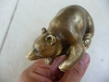 Gorgeous Vintage Bear Brass Garden / Outdoor Faucet New