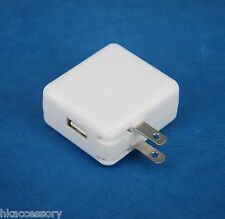 2A Foldable USB AC Wall Charger WHITE for Google Nexus 7 2 2013 HTC 9 10 Tablet
