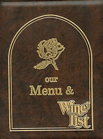 Older Restaurant Menu - Breckenridge, Colorado - Briar Rose - Huge Menu