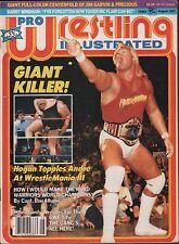 Pro Wrestling Illustrated August 1987 Hulk Hogan, Barry Windham VG 020316DBE