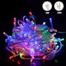 10M 100 LED Natale Fata Della Luce Della Stringa Esterna Natale Nozze Lampade