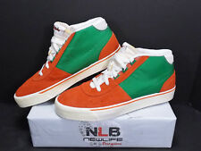 2011 Nike Hachi Nd Qs 457059-830 Team Orange/Victory Green Men's Size 10