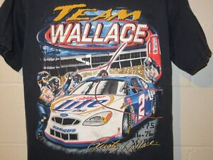 Vintage Chase Nascar Rusty Wallace Team Wallace Gettin it Done T-Shirt Medium