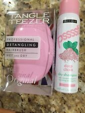 NIB Tangle TEEZER DETANGLING HAIRBRUSH WET DRY W Freeman Dry Shampoo