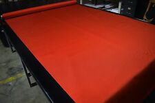 "Burnt Orange Ballistic 1680D Nylon Fabric 58"" Cordura Water Repellent Coated DWR"