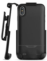 iPhone XS Max Battery Case with Holster Slim Portable Charging Case w/ Belt Clip