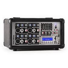 Power Dynamics Mixer 4 Canali 800W Amplificatore Professionale Eq 5 Bande 15V