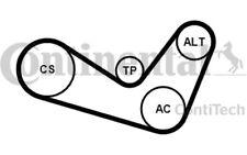 CONTITECH Juego de correas trapeciales poli V para VW SEAT AUDI A3 6PK1050K1