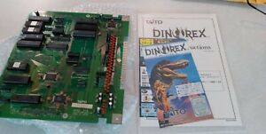 Dino Rex SUB ROM PCB WORKING 100% Taito Arcade F-2 SYSTEM JAMMA + Artwork