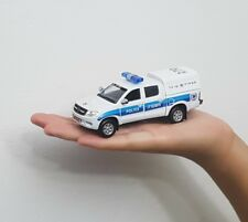 ISRAEL POLICE TOYOTA HILUX CAR MODEL SCALE 1:43 TOY BEST GIFT