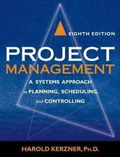 Project Management: A Systems Approach to Planning, Scheduling, and Co-ExLibrary