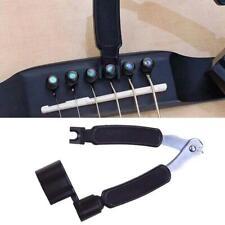 3 in 1 Tool Guitar Winder String Cutter  Pin Puller for Guitar Banjo Mandol C5H6