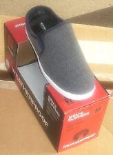 Mens Slippers Sz Medium 8 - 9 Gray Weatherproof Thinsulate Clogs Memory Foam NEW