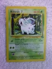 Carte pokémon nidoran 57/64 jungle wizard