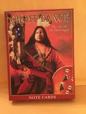 Native American ~ Ghost Dance ~ JD Challenger ~ Notecards ~ BRAND NEW