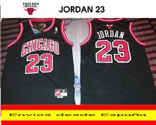 CAMISETA NBA RETRO  CHICAGO  JORDAN  BULLS  N.23  TALLA (S) COLOR NEGRO.