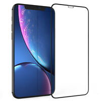 Apple iPhone XR 6.1 Screen Protector Best Tempered Glass Thin 100% Protection