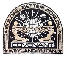 ALIEN COVENANT Weyland Yutani BBW Movie Deluxe Uniform Patch- TAN (ALPA-69)