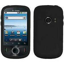 NEW AMZER BLACK PREMIUM SILICONE SOFT SKIN JELLY CASE FIT FOR HUAWEI COMET U8150