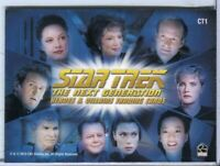 Star Trek TNG Heroes & Villains Case Topper Chase Card CT1