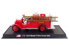 New 1:72 Diecast Fire Engine USA Model T Fire Truck 1926 Fire Truck Vehicle