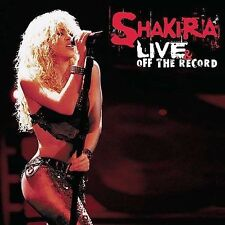 Live & Off the Record (CD & DVD) Shakira Audio CD