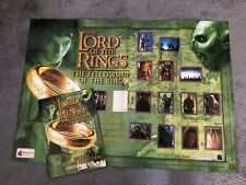 Lord of the Rings Fellowship Of The Ring Sticker Album & Poster MERLIN
