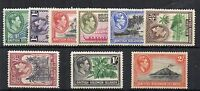 British Solomon Islands 1939-51 vals to 2s MLH