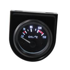 "2"" 52mm Car Auto Universal Oil Temp Temperature Gauge Meter 50-150 ℃ LED Light"