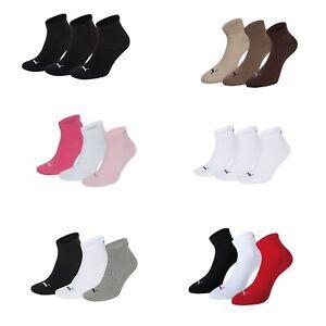 Puma Trainer Socks 3er-Pack Quarters Many Colours